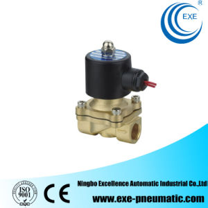 Exe 2/2 Way Direct Acting Brass Solenoid Valve 2W160-15 pictures & photos
