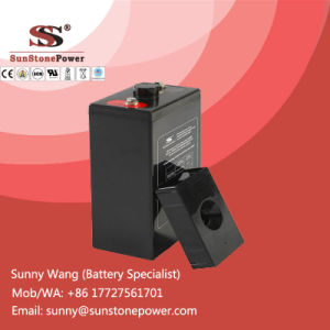 Deep Cycle Gel Battery Solar Power System Battery 2V 200ah pictures & photos