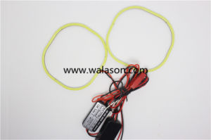 Hottest! Square Shape Circle or Semi Circle 12V High Quality COB Angle Eyes Lighting for Car Headlight