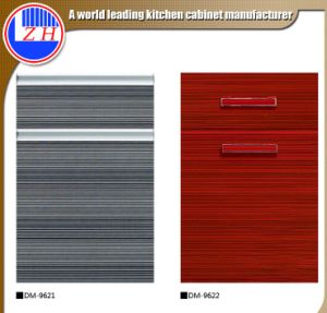 Zhihua Woodgrain Acrylic Kitchen Cabinet Door for Indoor Kitchen (zhuv) pictures & photos