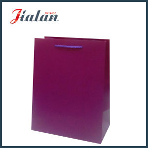 Solid Color Matte Laminated Art Paper Shopping Gift Paper Bag pictures & photos