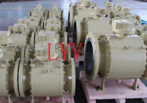Casting Top Entry Ss CS API Ball Valve