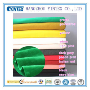 Plain Deyed Thick Knitted Cotton Fabric pictures & photos