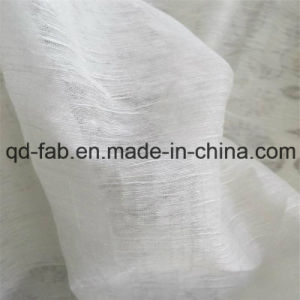 64%Linen20%Cotton16%Nylon Fine-Thin Yarn Fabric (QF16-2508) pictures & photos