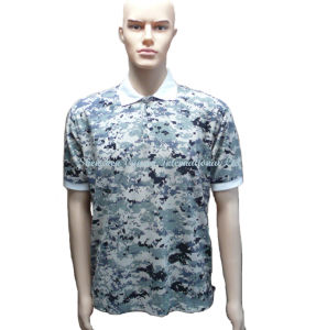 New Fashion Camouflage Polo Shirt for Men pictures & photos