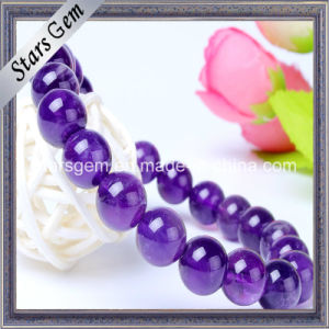 Natural Amethyst Bracelet Beads pictures & photos