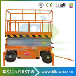 10m Hydraulic Electric Scissor Man Lift Platform pictures & photos
