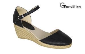 Women′s Fashion Espadrille Wedge Sandals pictures & photos