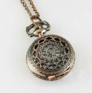 Round Pendant Necklace Antique Pocket Watch-A008 pictures & photos