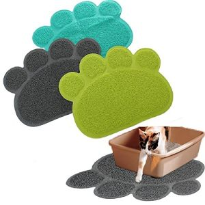 Dog Puppy Paw Shape Placemat Pet Cat Dish Water Bowl Feeding Food PVC Mat pictures & photos