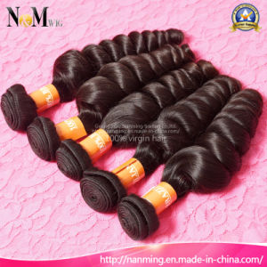 2017 New Arrival Natural Black Color Brazilian Virgin Wet and Wavy Loose Curly Human Hair Weave pictures & photos