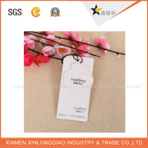 Wholesale Blank Custom Kraft Paper Hang Tags for Clothing pictures & photos
