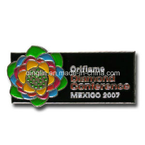 Customize 3D Logo Full Color Printing Metal Badge/Lapel Pin (QL-Hz-0032) pictures & photos