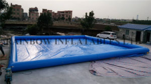 New Square Swimming Pool Large Inflatable Pool for Sale pictures & photos