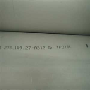 TP304 Tp316 Tp321 Seamless Stainless Steel Pipe Tube pictures & photos