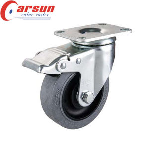 5inches Middle Duty Swivel Conductive Caster (with thread stem) pictures & photos