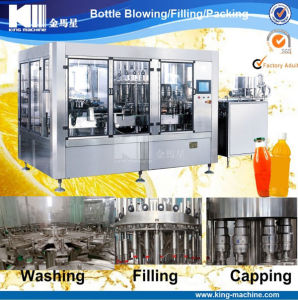 Automatic Bottle Drinks Juice Tea Beverage Hot Filling Machine pictures & photos