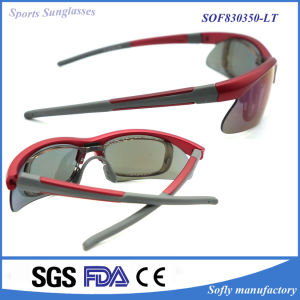 Factory Supply Fashion Design Polarized Sports Safety Sunglasses for Women pictures & photos