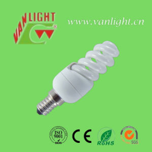 11W E14/E27 Full Spiral Energy Saving Lamps CFL RoHS Bulb pictures & photos