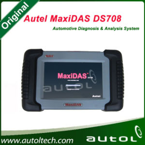 [Authorized Distributor] 2016 Original Autel Maxidas Ds708 Update Via Internet Full Set Autel Ds708 Automotive Diagnostic System pictures & photos