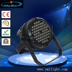 Hot Selling Waterproof LED PAR54 3W RGBW LED PAR54 Stage Lighting pictures & photos