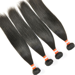 Peruvian Virgin Hair Extensions Straight 24inch Hair Weft pictures & photos