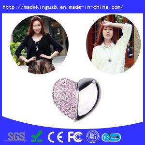 Diamond Heart Shape USB Flash Drive pictures & photos