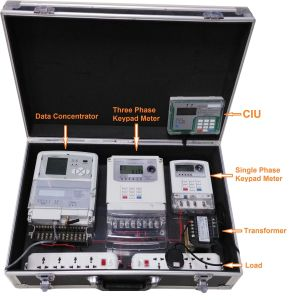 AMR System Remote Control and Prepaid Demonstrate Box pictures & photos