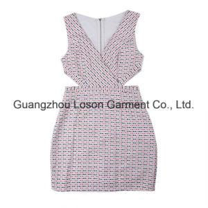 Women Fashion Clothes Ladies Yarndye Dress