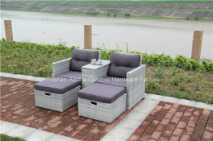 Outdoor Wicker Garden Rattan Sofa