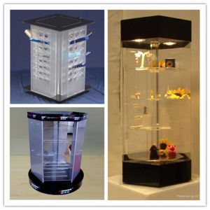 Acrylic Revolving Display Cabine, Revolving Display Stand pictures & photos