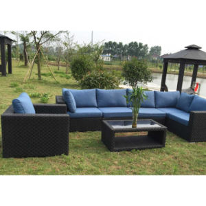 Modern Rattan Furniture Outdoor Garden Wicker Patio Leisure Sofa
