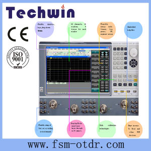 Techwin Series PC Based Vector Network Analyzer pictures & photos