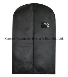 Custom Black Non-Woven Suit Garment Cover pictures & photos
