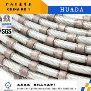Diamond Wire Saw for Granite Blcok Squaring pictures & photos