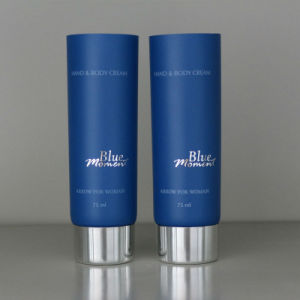 200ml Cosmetic Tube with Silver Screw Cap and Offset Printing pictures & photos