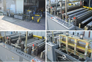 Auto Threading-Rolling Plastic Garbage Bag Making Machine pictures & photos