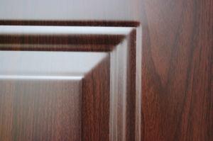 Decorative Interior Primed American Steel Door Skin Panels with Embossed Flower pictures & photos