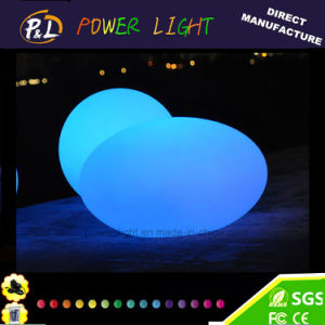 Flashing Illuminated Glowing LED Oval Light pictures & photos