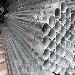 Q235B Welded Carbon Steel Pipe for Steel Structure or Fluid Transportation pictures & photos