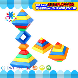 Building Blocks Toys Intellectual Toys, Colorful Plastic Desk Blocks Toy Desktop Toys pictures & photos