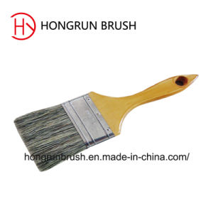 Wooden Handle Bristle Paint Brush (HYW013) /Painting Tool pictures & photos