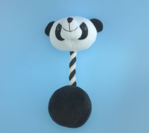 Plush Pet Panda Toy with Embridery Eyes pictures & photos