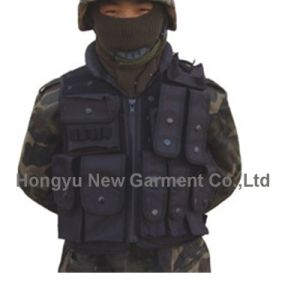 Black Tactical Vest for Military /Police (HY-V053) pictures & photos