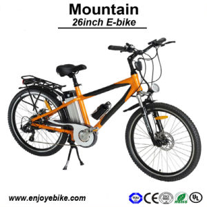 26inch Wheels Mountain Electric Bikes Bicycle with Carbon Fiber Electric Bike (PE-TDE03Z)