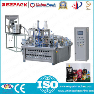 Spout Sealing Machine for Premade Bag (RZ12-120JZ) pictures & photos