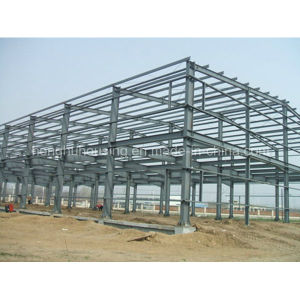 Rational Designed Prefabricated EPS Sandwich Panel Warehouse pictures & photos
