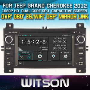 Witson Windows Car DVD for Jeep Grand Cherokee pictures & photos