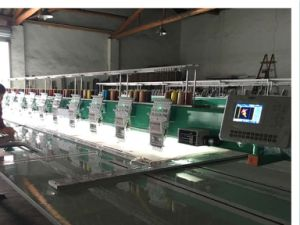 Flat Embroidery Machine for Garment with Good Price