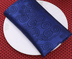 Hot Sales Polyester Satin Hotel Custom Napkins pictures & photos